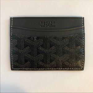 Other - Goyard Dark Grey - Card Holder - Mens High Fashion